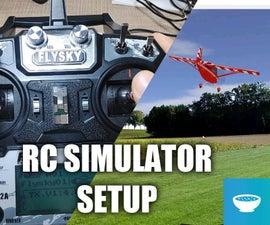 FlySky FS-i6X Setup With a RC Simulator