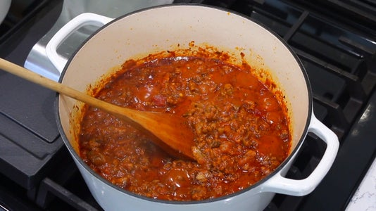 Simmer Meat Sauce
