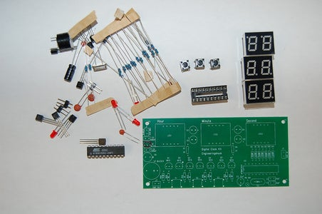 How to Make a Digital Clock Kit Based on Atmel