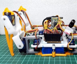 [DIY] Spider Robot(Quad robot, Quadruped)