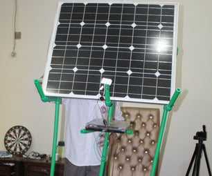 Solar Rechargeable Lamp and Solar Box