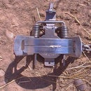 Setting a Steel Coyote Foot Trap