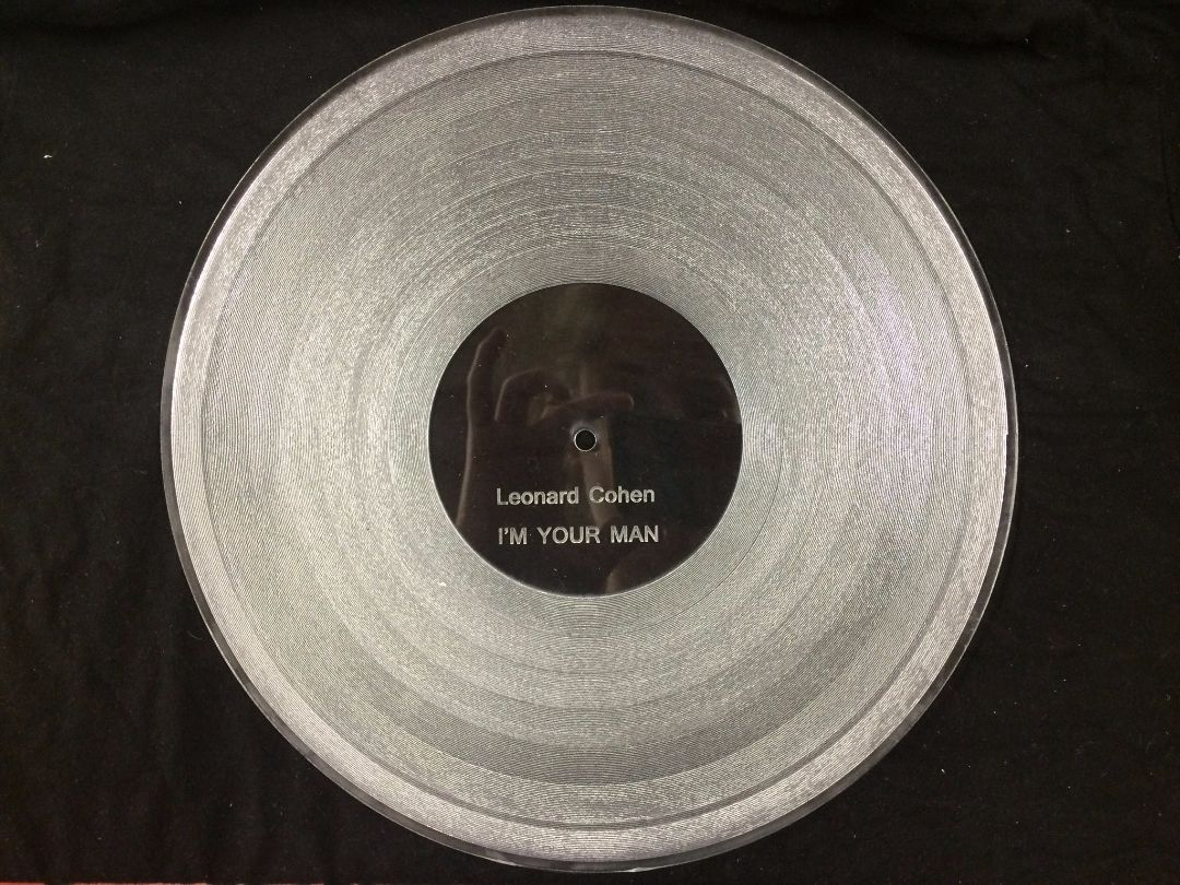 Picture of Laser Cut Record (Universal Laser)