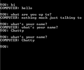 A Learning Chatterbot in C++