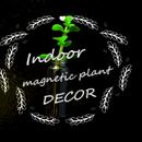 Indoor Magnet Plant Decor!