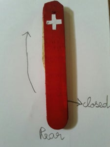 Making a Proper Swiss Army Knife With Popsicle Sticks (normal Size.)