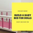 Baby Bed for Dolls