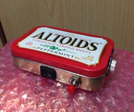 1w 445nm Altoids Tin Laser