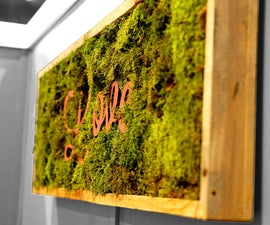 Making Inspirational Living Wall Frames