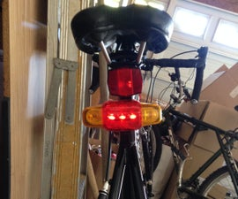 Bicycle Blinker and Brake Light