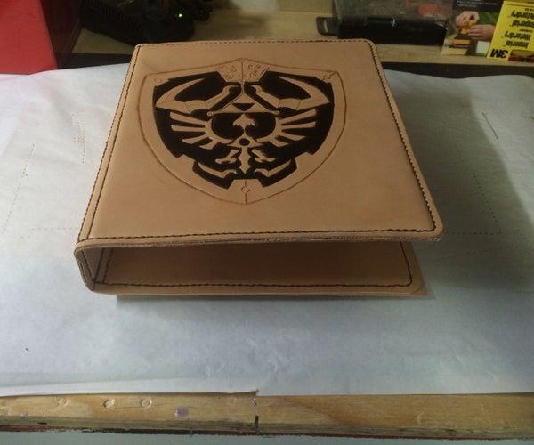 Zelda Themed Three Ring Binder