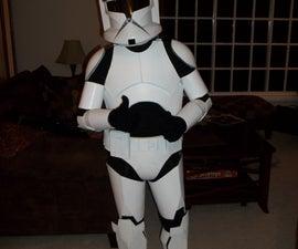 Foam Clone Trooper Armour