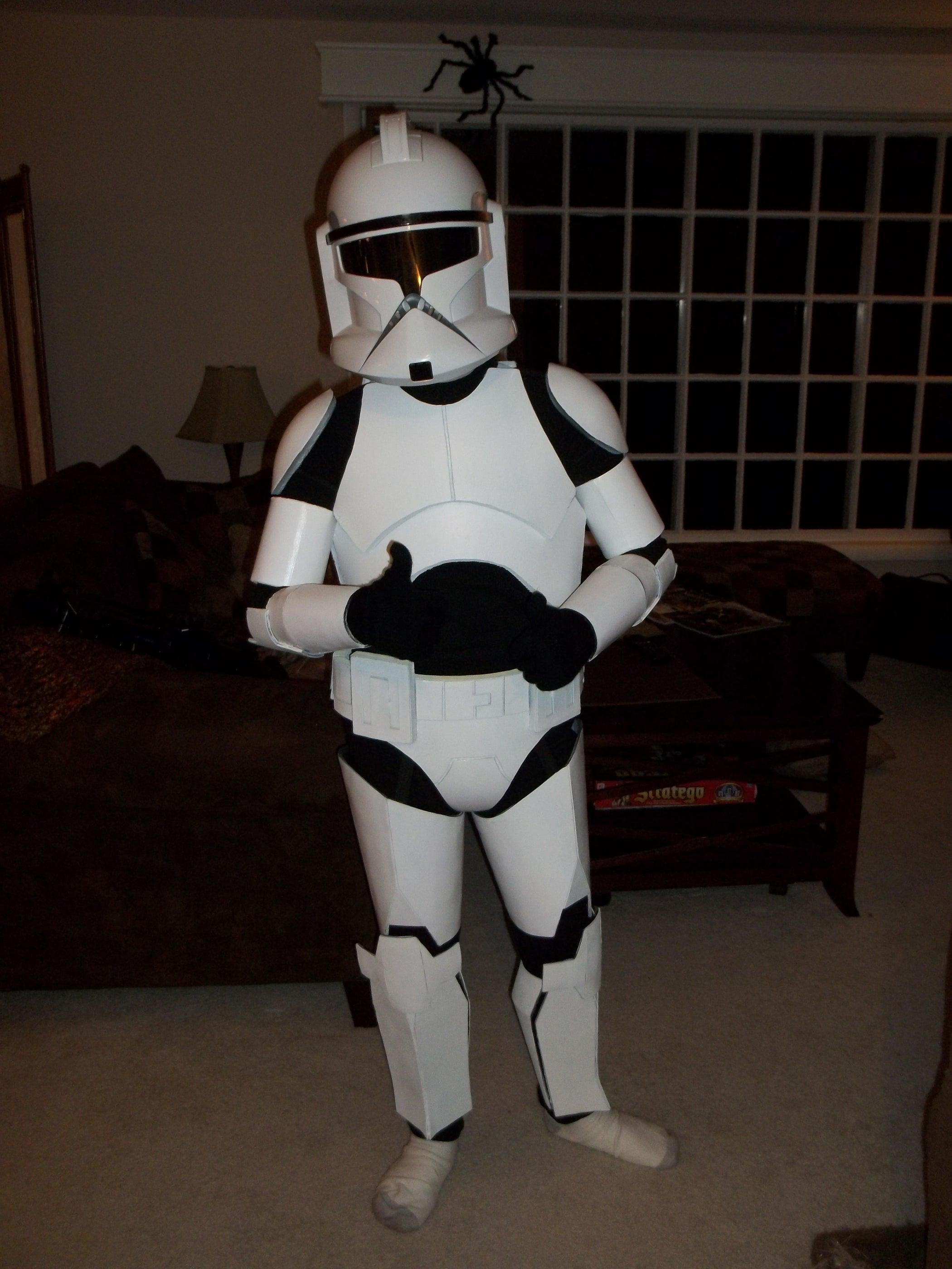 Foam Clone Trooper Armour 7 Steps