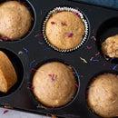 Vegan Lemon Zucchini Muffins