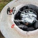 Small Propane Tank Crucible (No Weld)