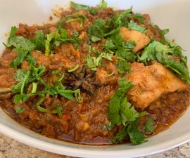 Spicy Indian Homestyle Chicken