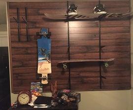 Longboard Wall