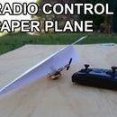 Easy Radio Control Paper Plane