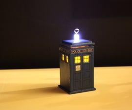 DIY TARDIS Ornament