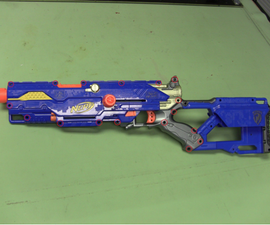 Nerf Modding 101: Longstrike CS-6