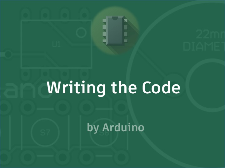 Picture of Writing the Code