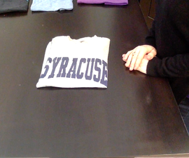 Ninja Shirt Folding
