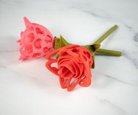 Fusion 360 3D Printable Flower