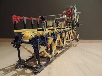 Knex Ball Machine Separator (8 Outputs)