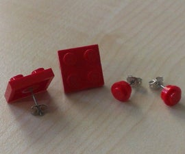 Mini LEGO ear studs