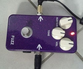 How to Make FUZZ Guitar Effect From Aliexpress DIY Kit