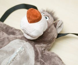 From Stuffed Toy to Backpack!   How to Make a Cute Bag From a Plush Animal