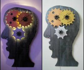 Mind Gear Lighted Wall Fixture