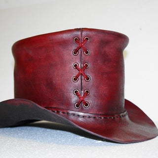 How to Make a Leather Top Hat
