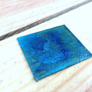 Blue Patina on Copper