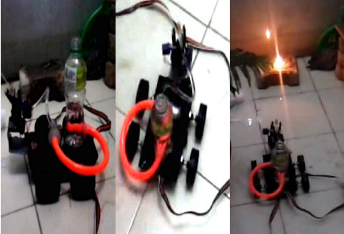 Picture of Make a Cheap Fire Fighting Robot at Home.