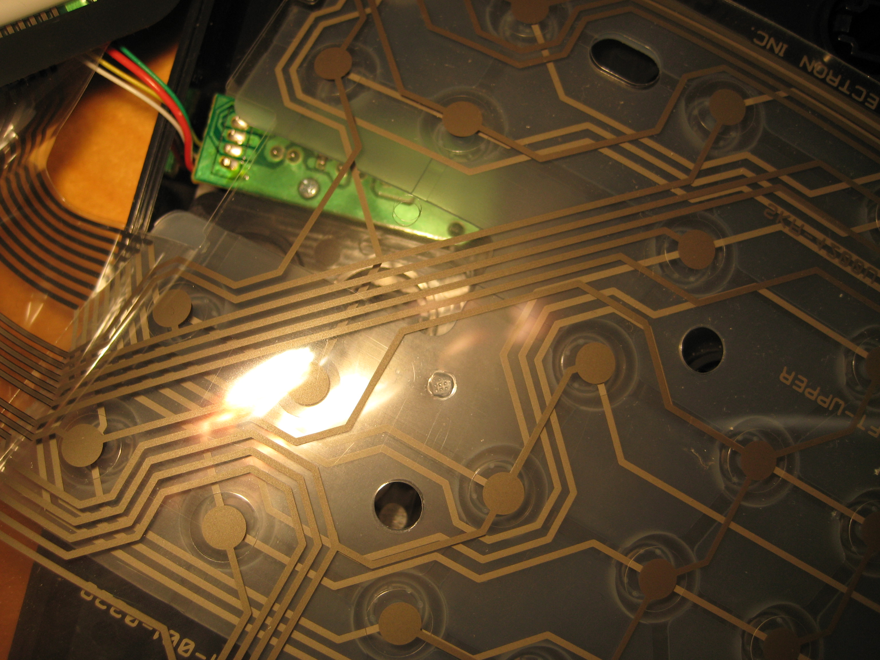 Picture of Solder Wires to Keyboard Circuit