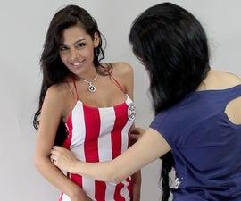 Sexy top for Larissa Riquelme