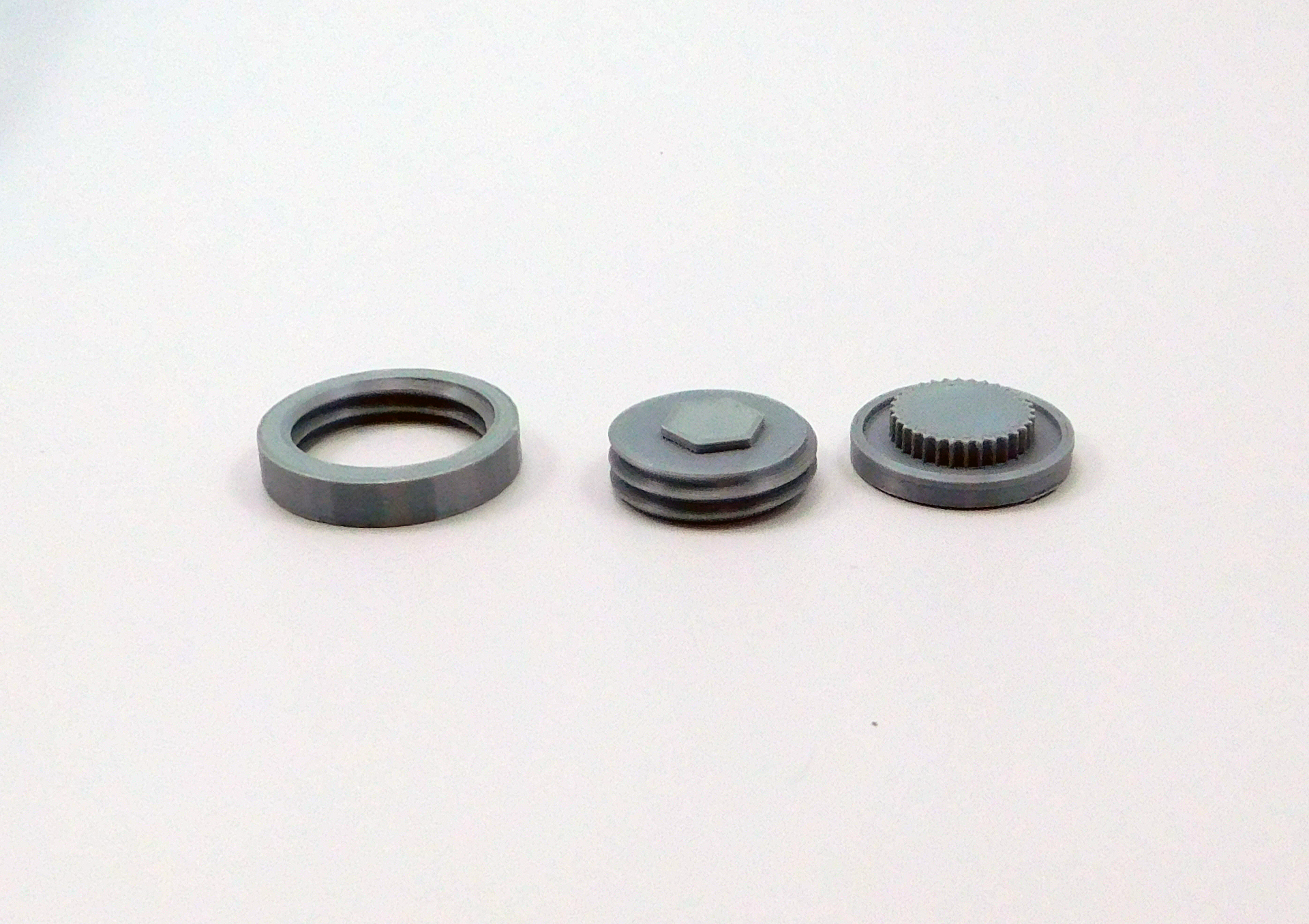 Picture of Model Assembly: Stopper and Threads