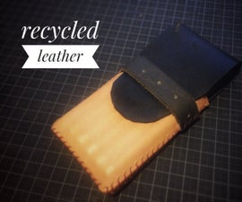 Recycling Leather - Pencil Case