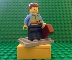 Lego Minifigure Stand