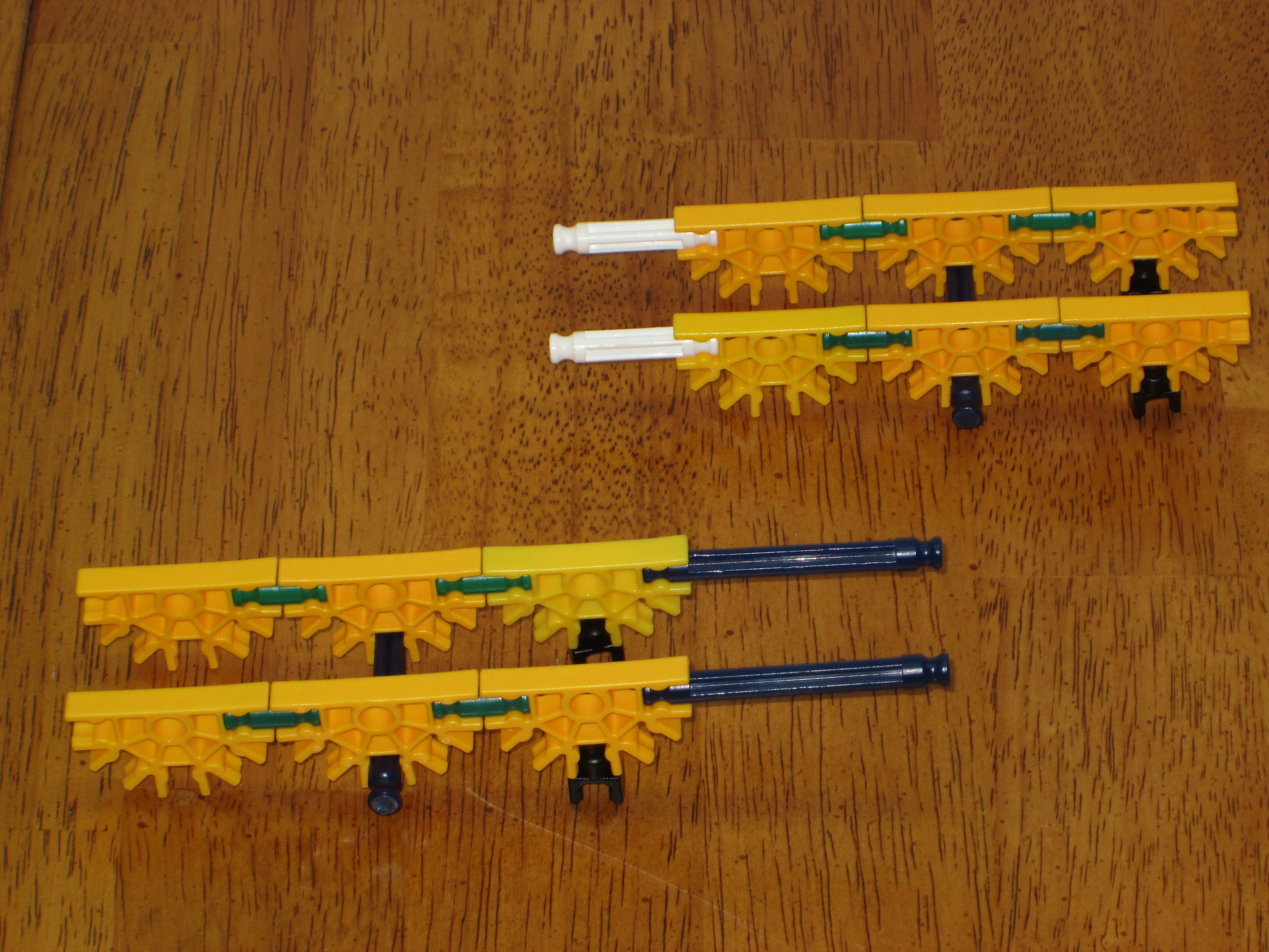 Picture of Input and Output Trays and Motor