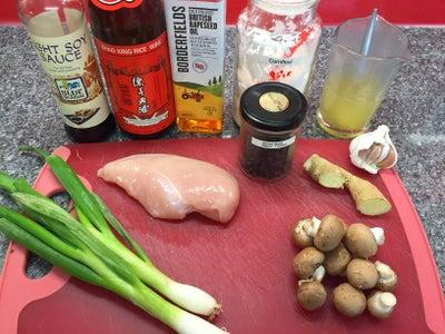 Ingredients (serves Two)