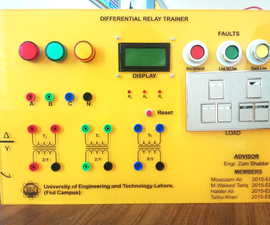 Percentage Differential Relay for Protection of Three Phase Transformer