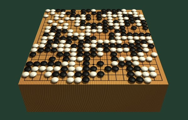 Fast, Easy, and Inexpensive Go Board (with a Quick History)