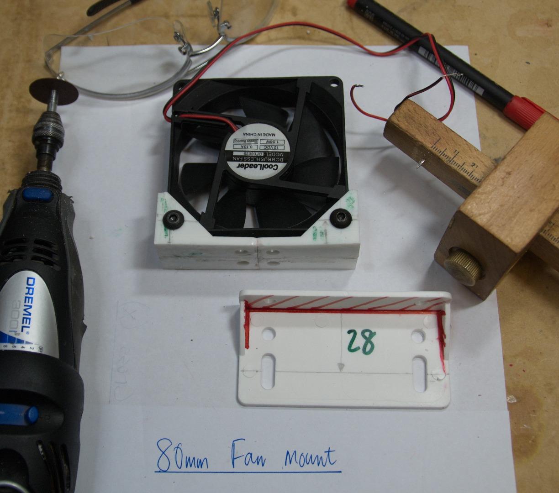 Picture of 80mm Fan Mount