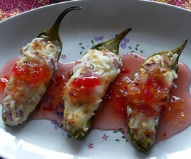 Caribbean Jalapeno Poppers