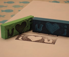 Super Easy Custom Rubber Stamps