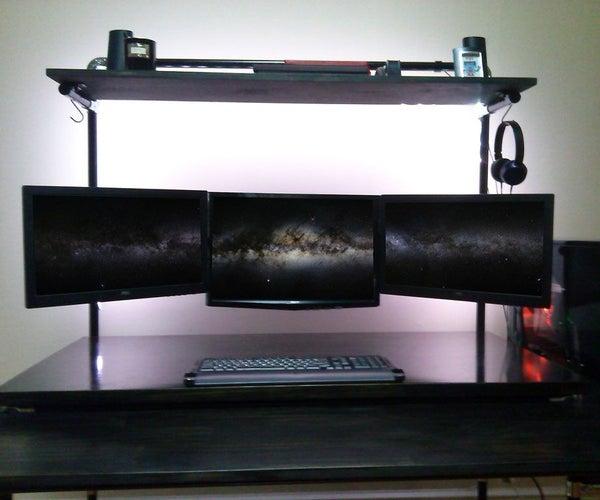 Lean Pipe Computer Desks