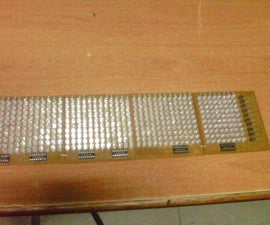 48x8 SCROLLING MATRIX LED DISPLAY USING ARDUINO CONTROLLER