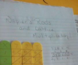 Napier's Bones and Lattice Multiplication